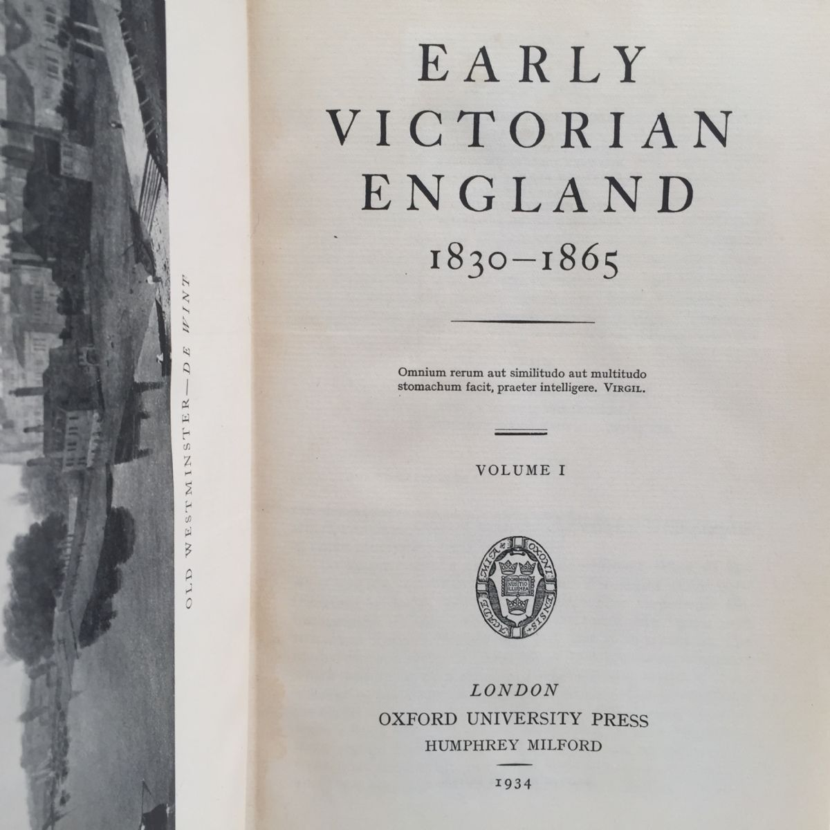 Early Victorian England, 1830-1865