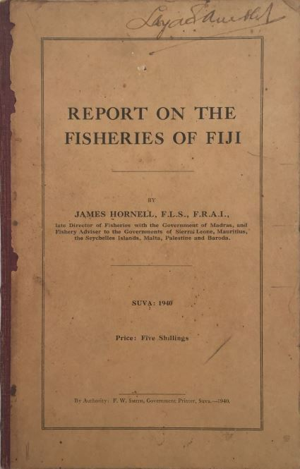 Report on the Fisheries of Fiji