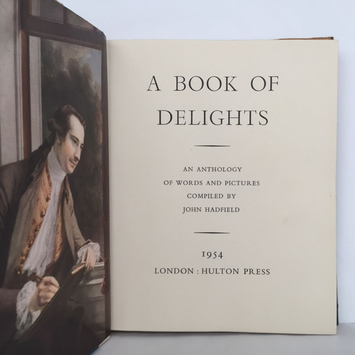 A Book of Delights