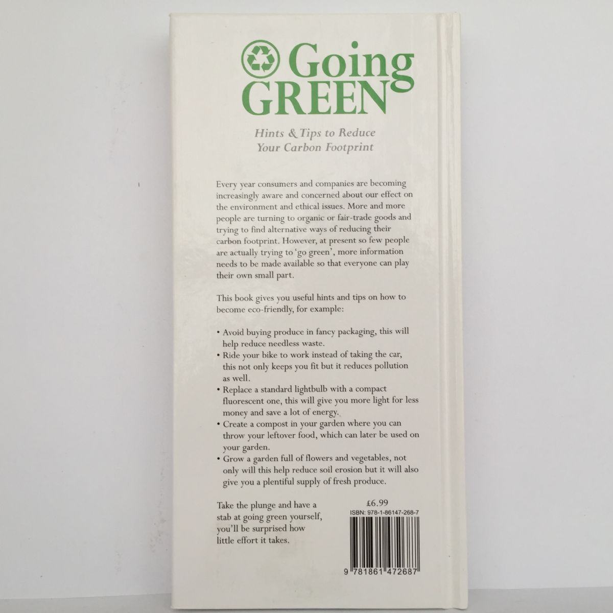 Going Green: Hints & Tips to reduce your Carbon Footprint