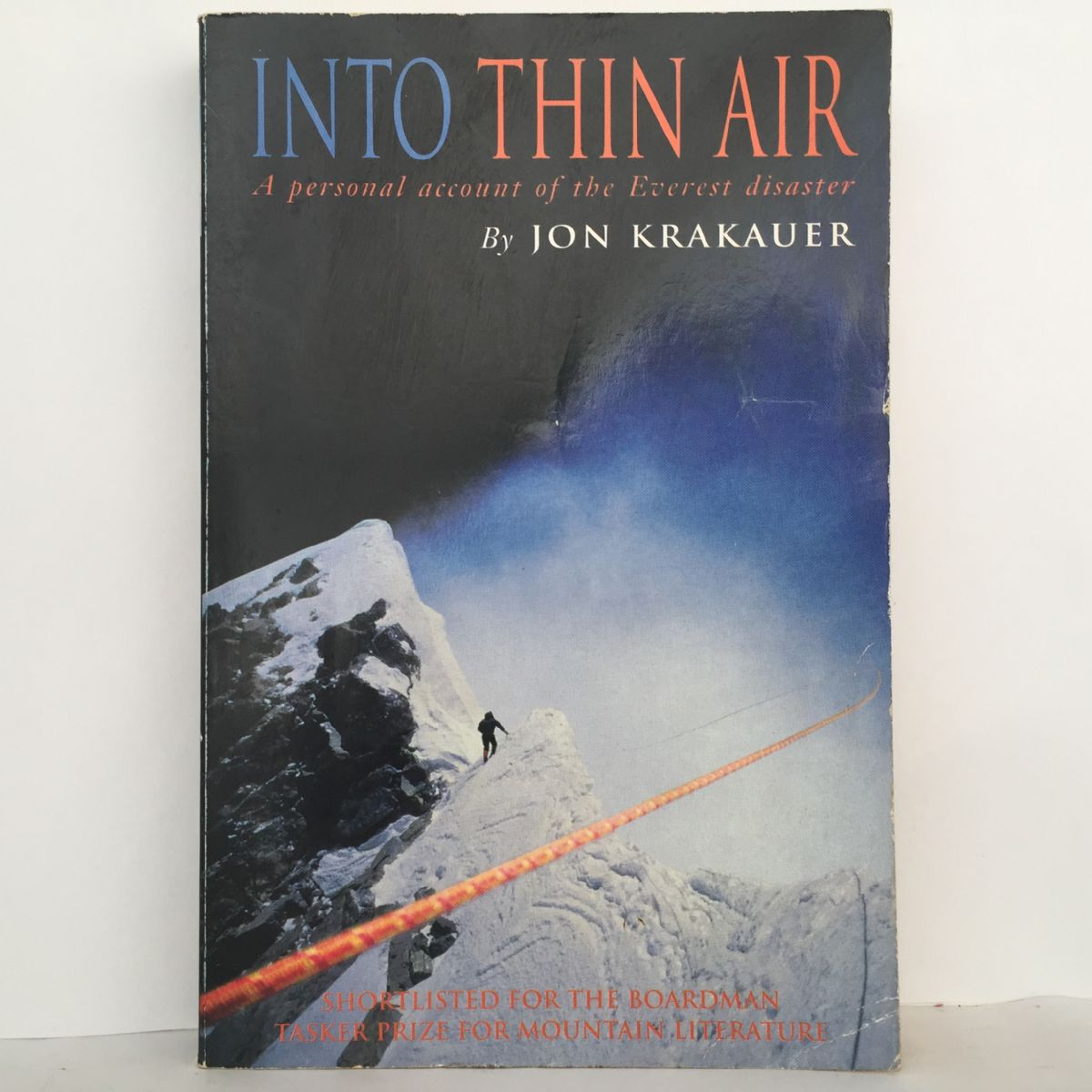 Into Thin Air: Personal Account of the Mt. Everest