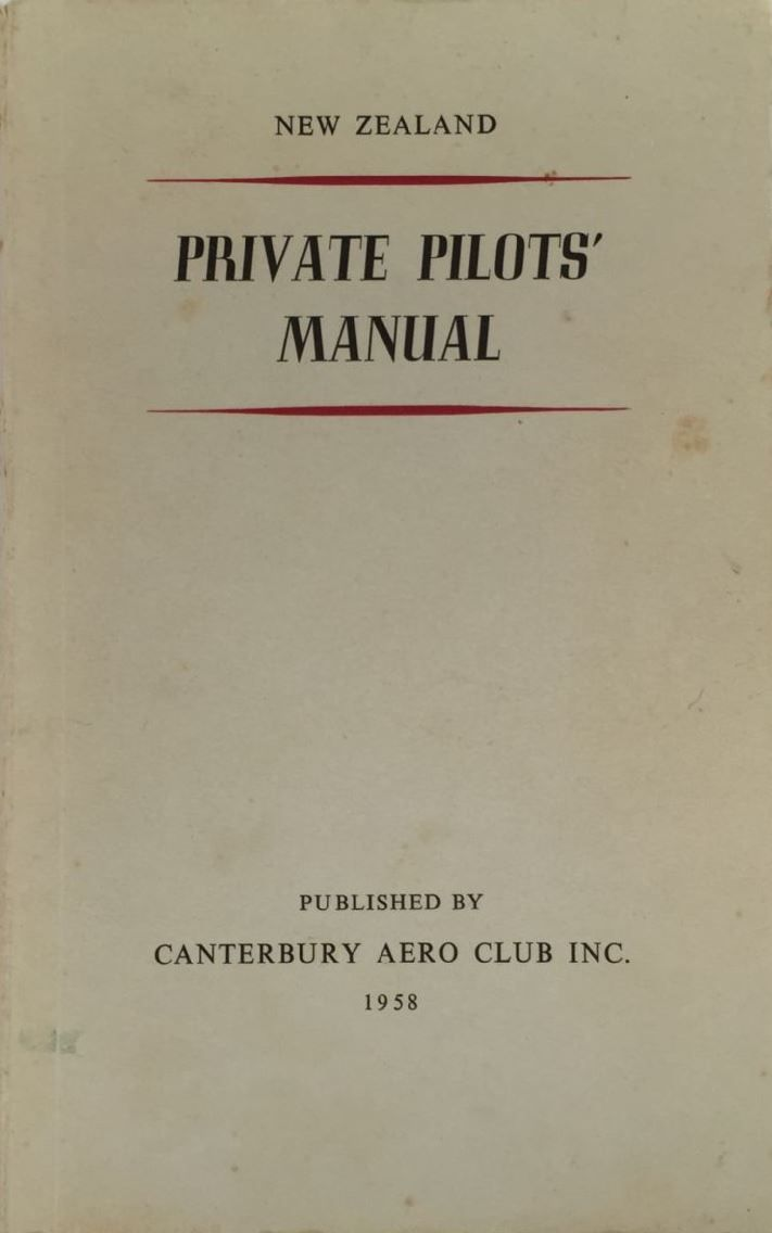 New Zealand Private Pilots Manual