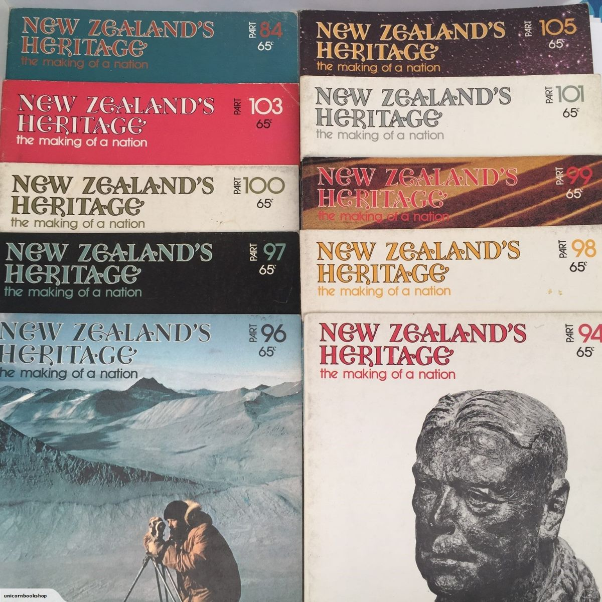 New Zealand's Heritage Series