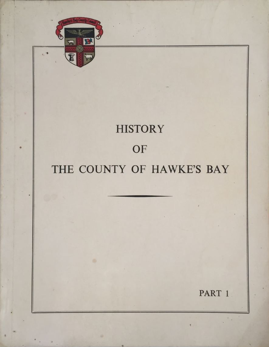 History of the County of Hawke's Bay