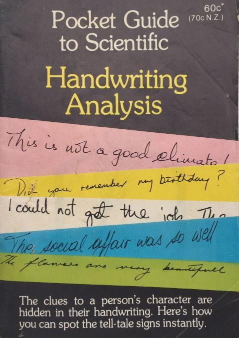 Handwriting Analysis: Pocket Guide