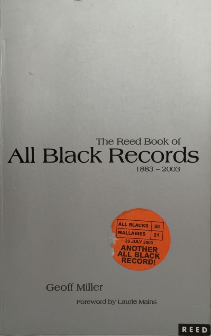 The Reed Book of All Black Records 1883-2003