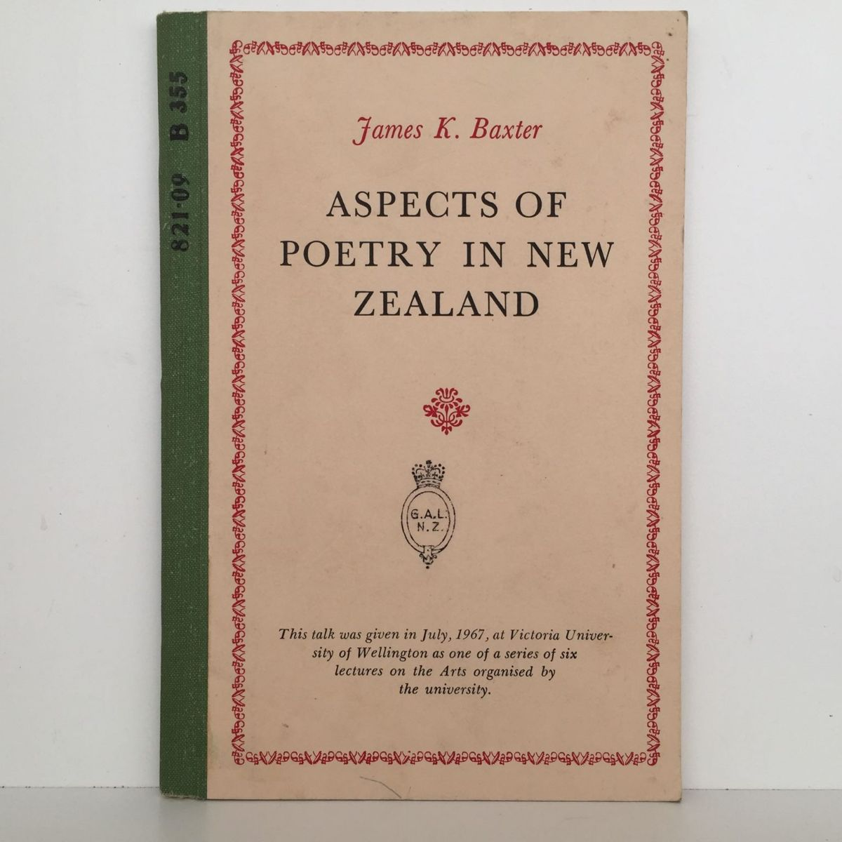 Aspects Of Poetry In New Zealand