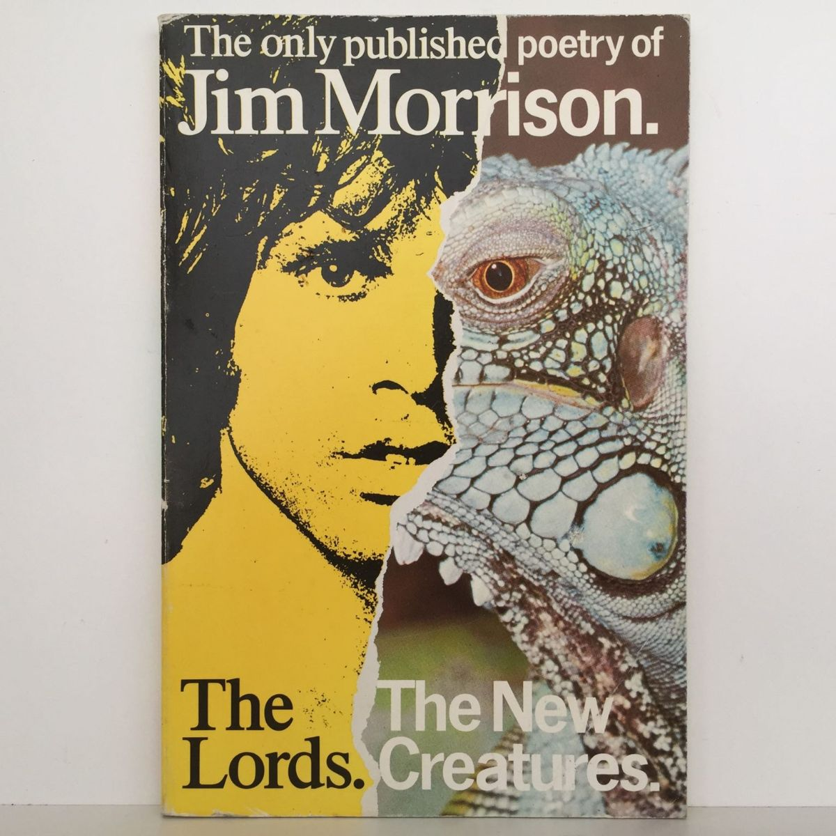The Only Published Poetry of Jim Morrison  : The Lords / The New Creatures