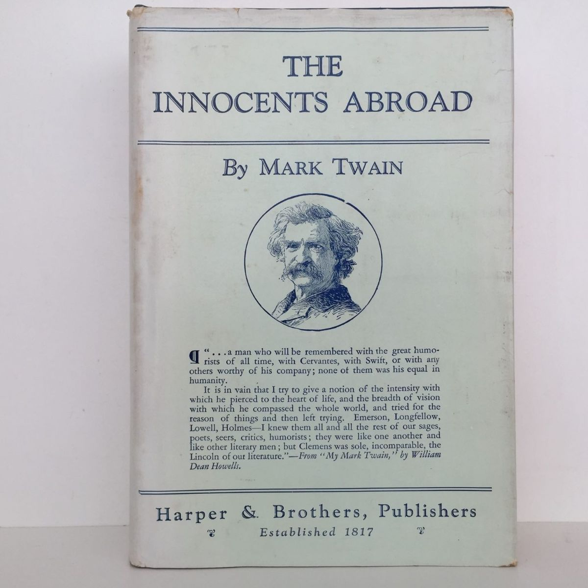 The Innocents Abroad : Or The New Pilgrims' Progress : In Two Volumes, Vol. 1