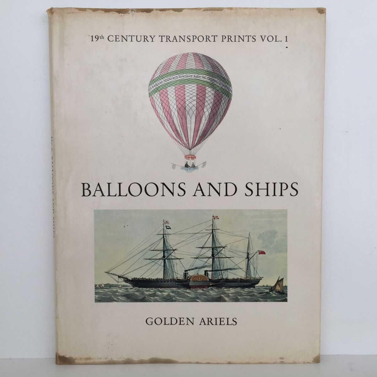 Balloons and Ships : 19th Century Transport Prints