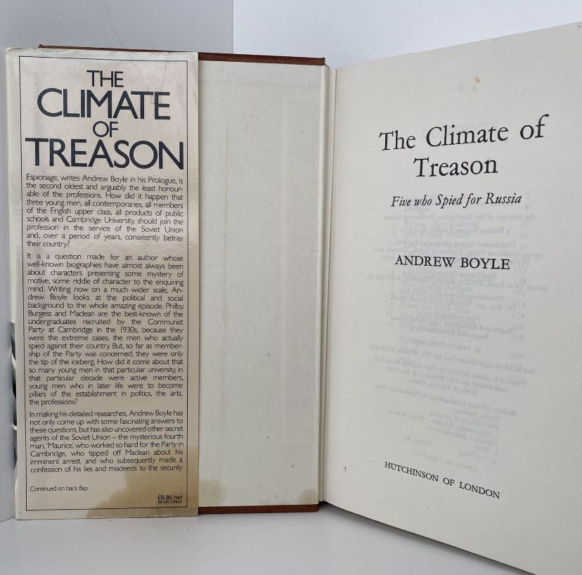 The Climate of Treason : Five who spied for Russia