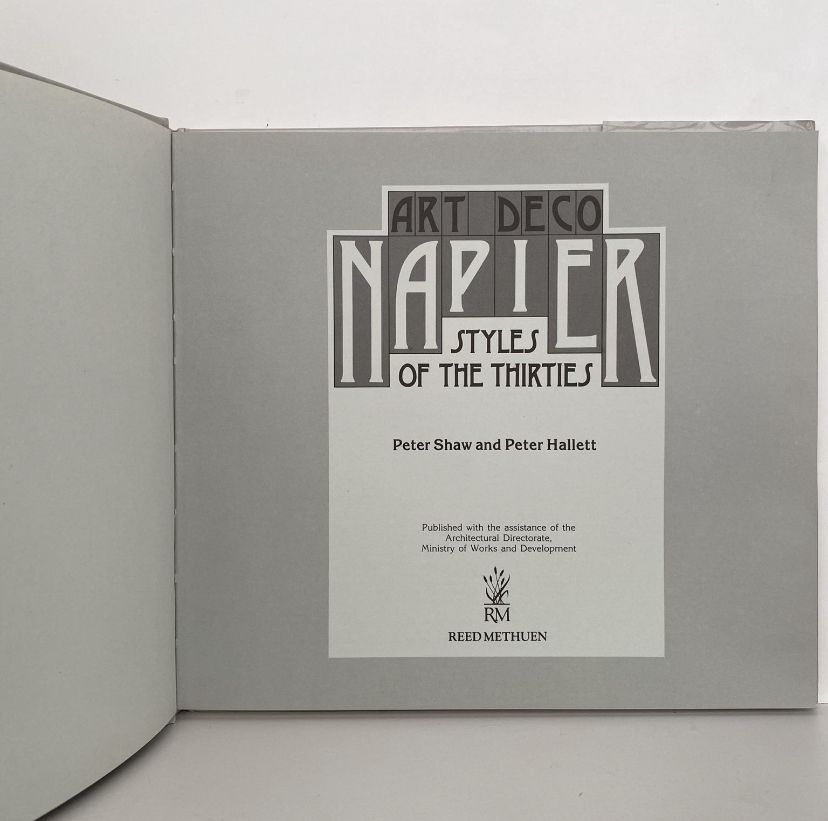 Art  Deco Napier: Styles of the Thirties