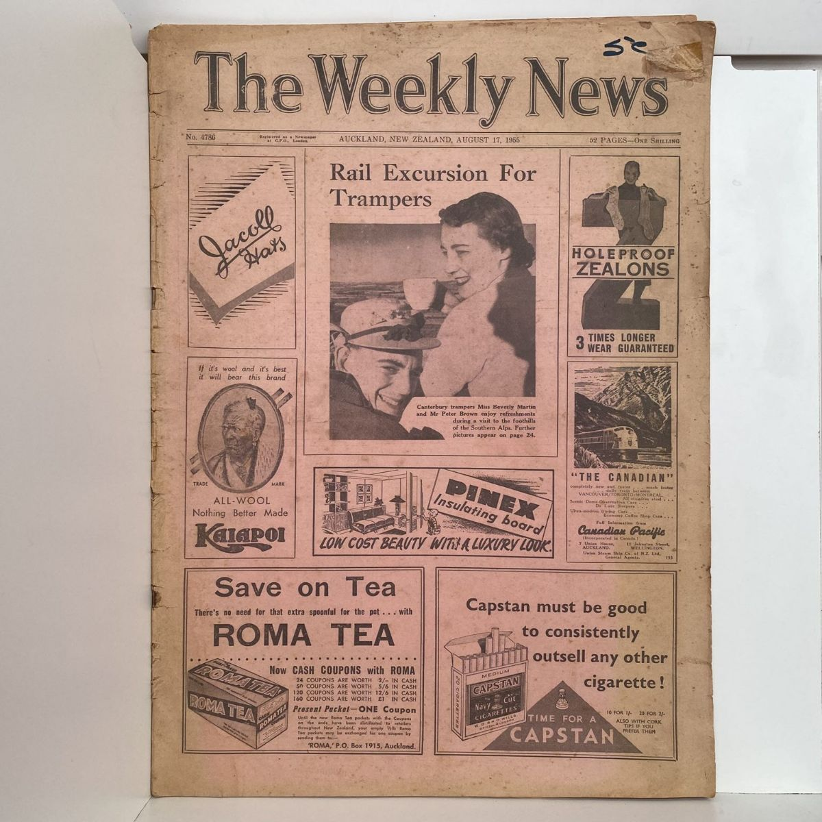 The Weekly News - 17 August 1955