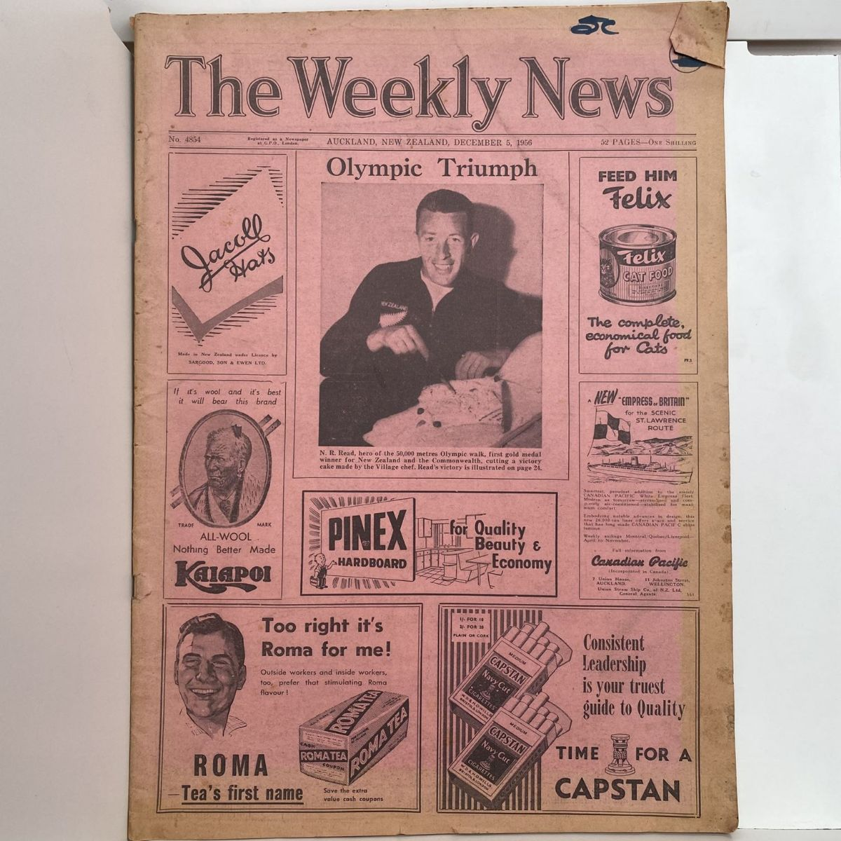 The Weekly News - 5 December 1956