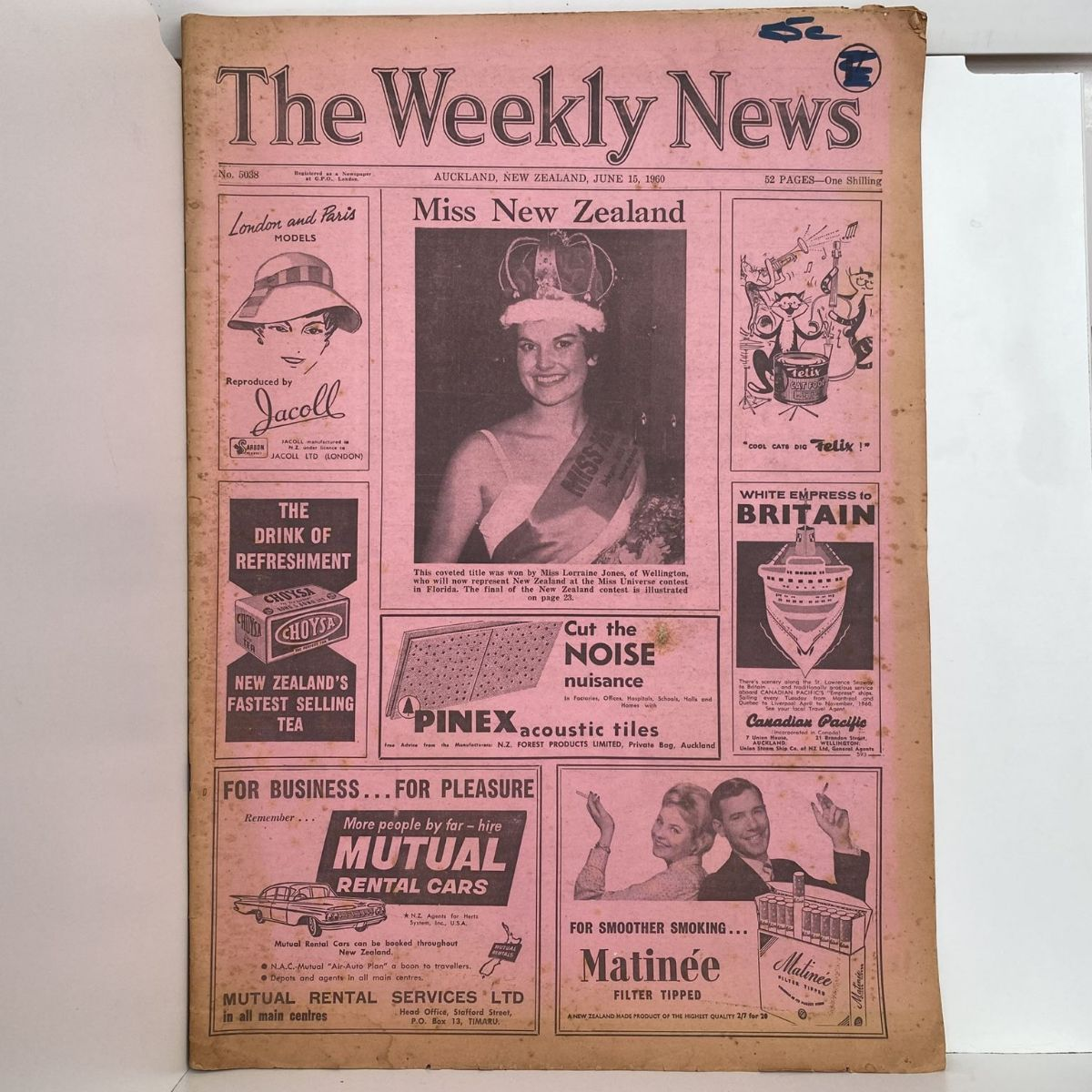 The Weekly News - 15 June 1960