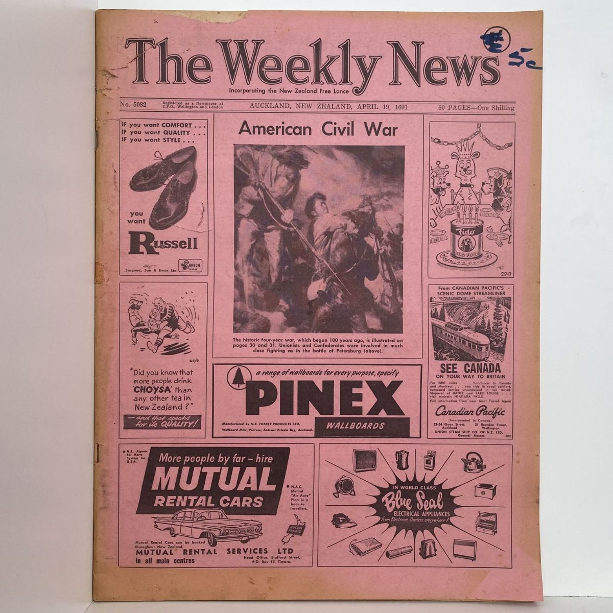 The Weekly News - 19 April 1961