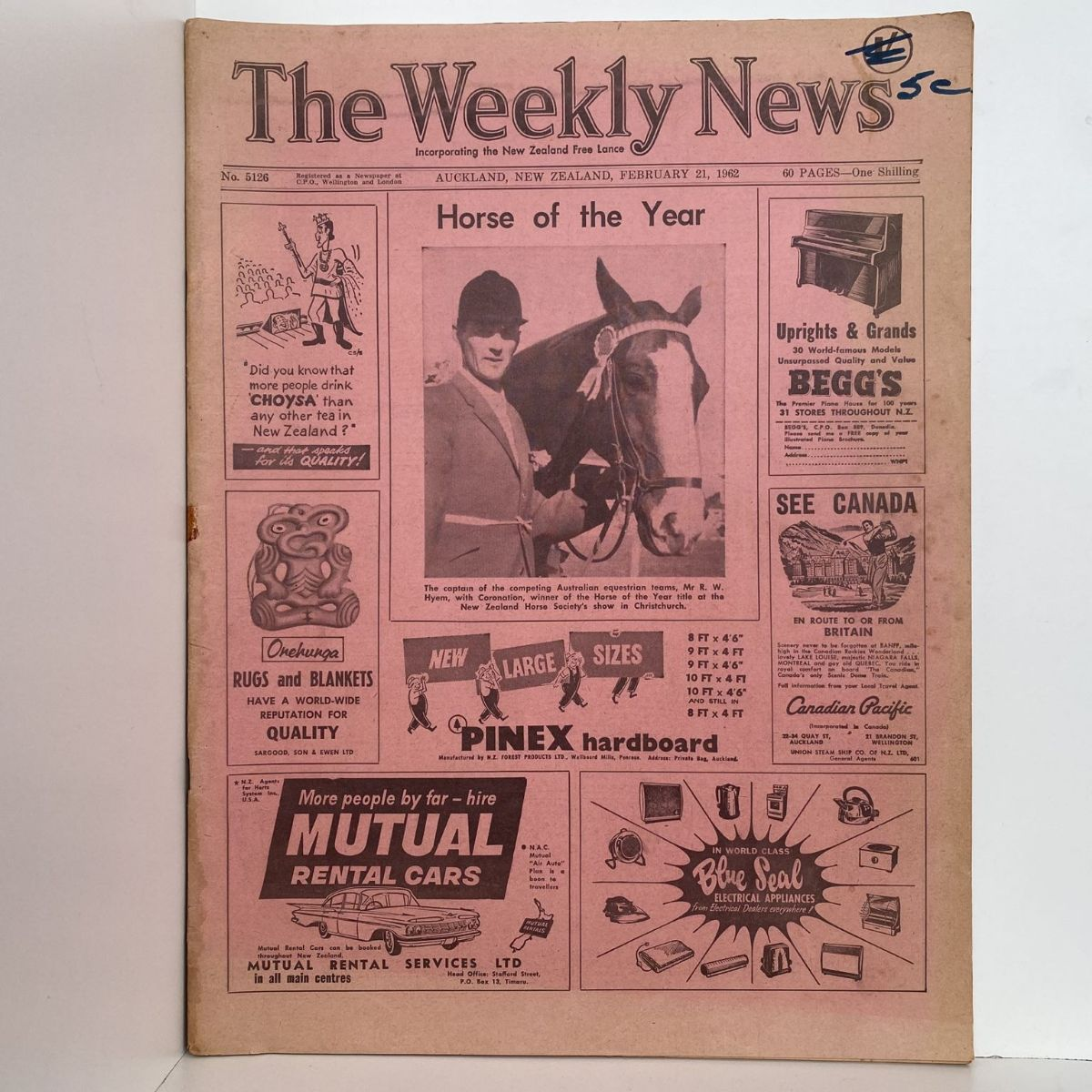 The Weekly News - 21 February 1962