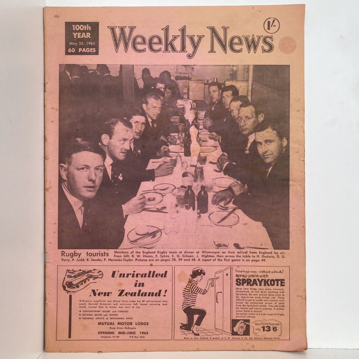 Weekly News - 22 March 1963