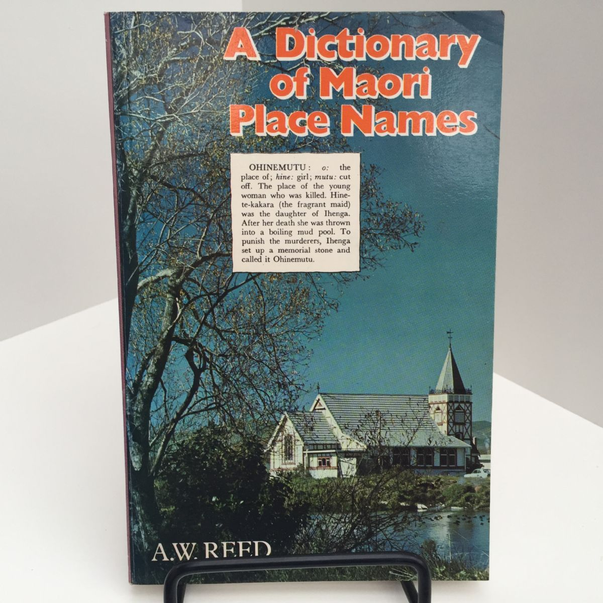 A Dictionary of Maori Place Names