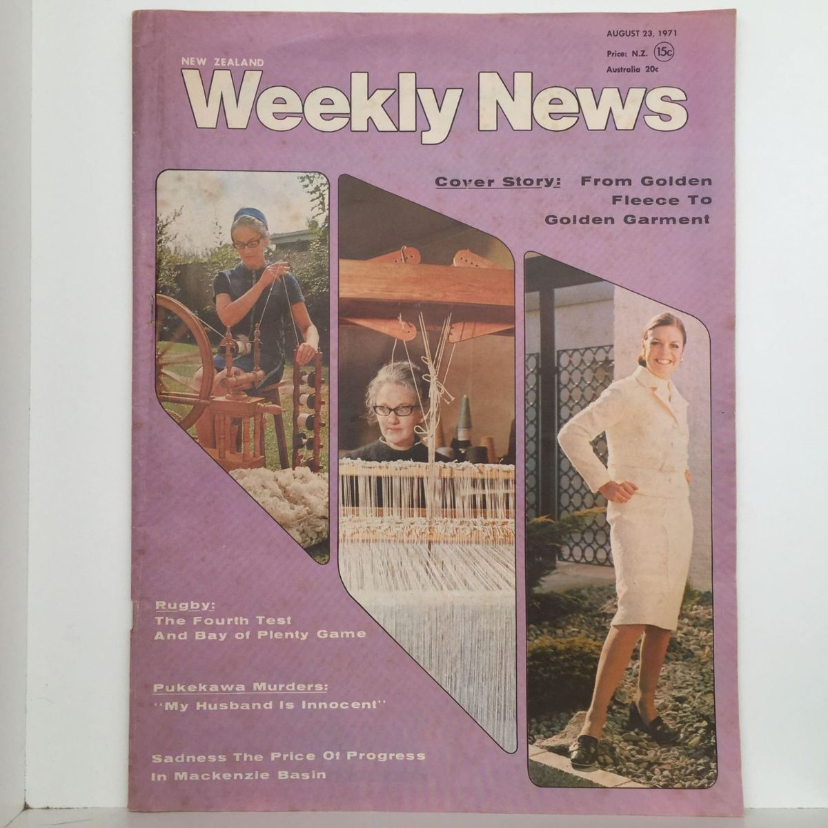 New Zealand Weekly News - 23 August 1971