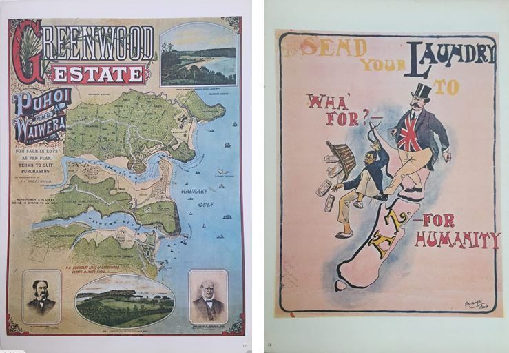 VINTAGE POSTER: New Zealand Advertising 1830-1940