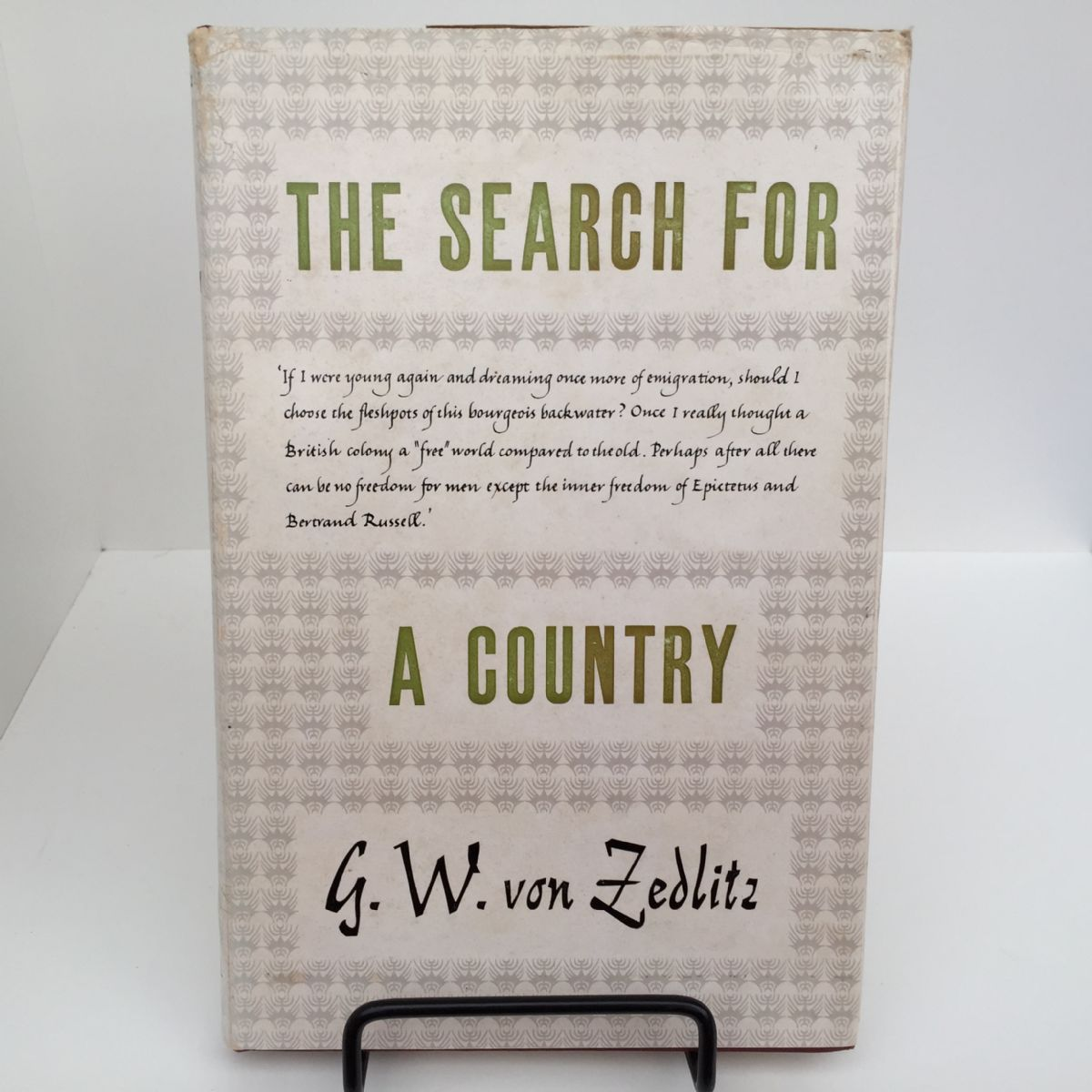 The Search for a Country