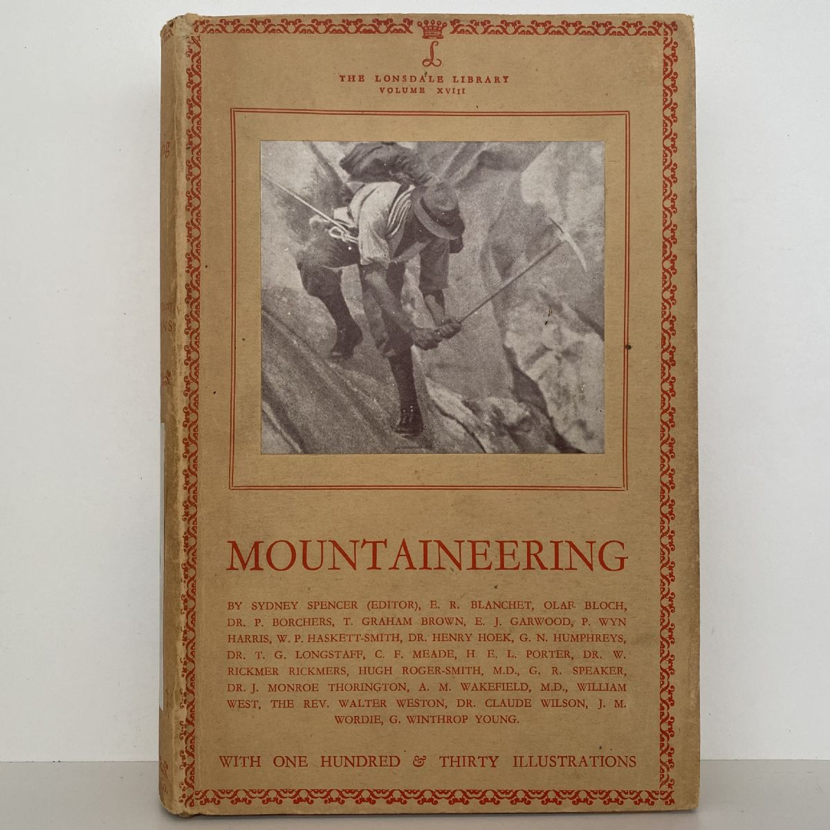 MOUNTAINEERING: The Lonsdale Library VOL 18