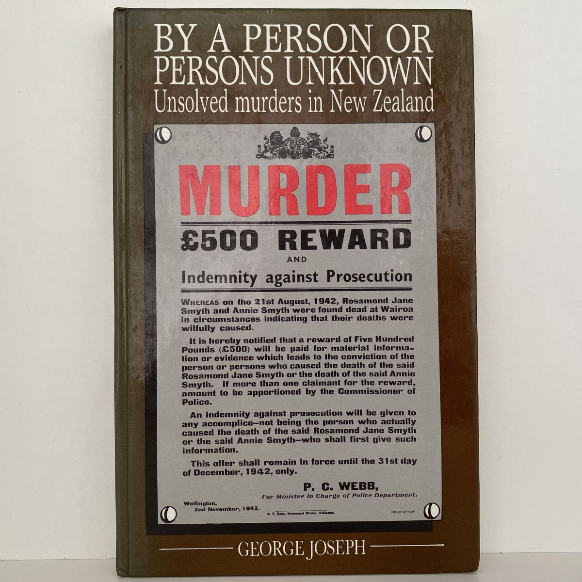 By A Person Or Persons Unknown: Unsolved Murders In New Zealand
