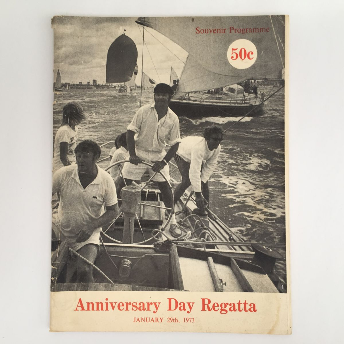 Anniversary Day Regatta 1973