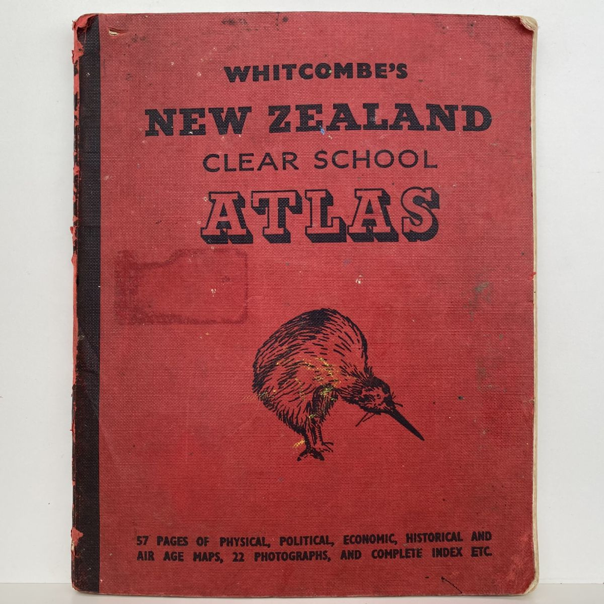 Whitcombe's New Zealand Clear School Atlas