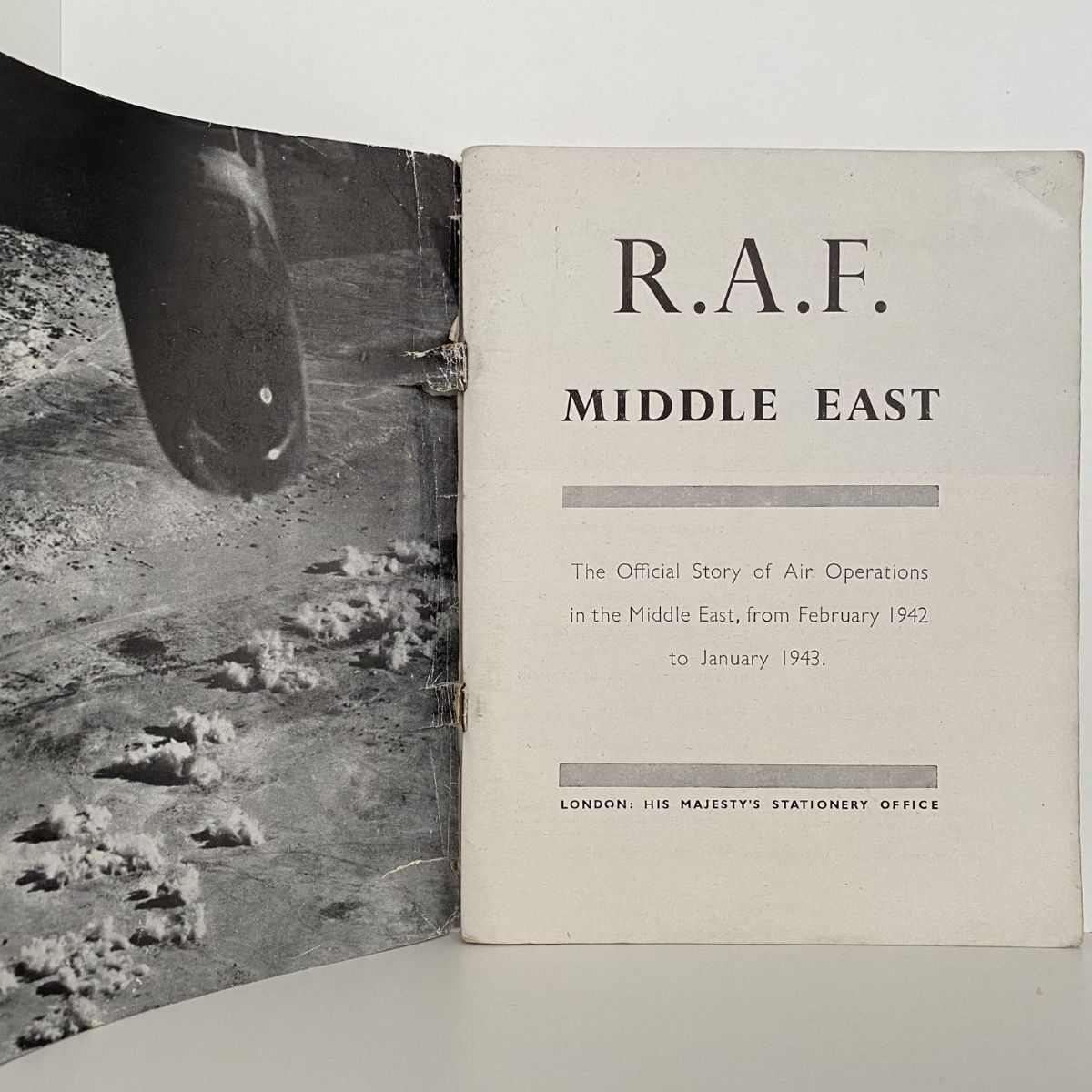 R.A.F Middle East: The Story of Air Operations in the Middle East 1942-1943