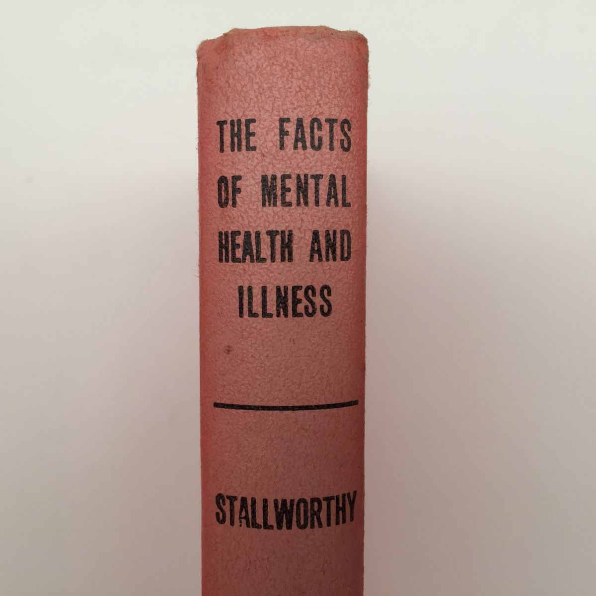 The Facts of Mental Health and Illness