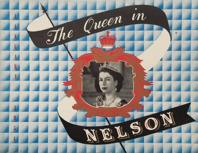The Queen in Nelson, New Zealand
