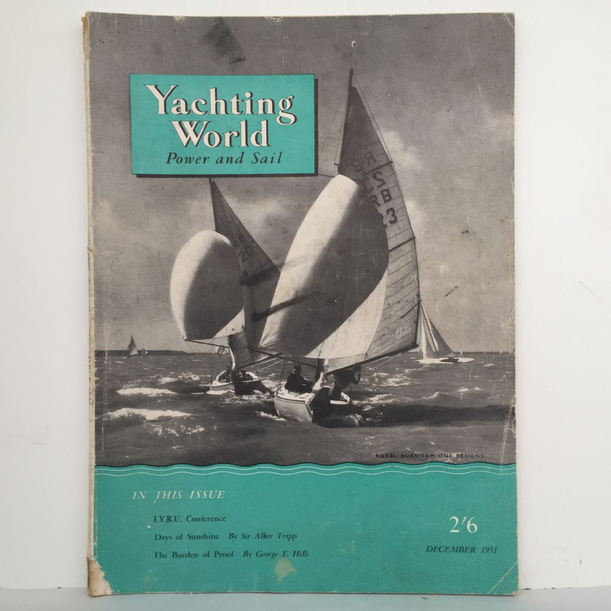 Yachting World Power and Sail Dec 1951