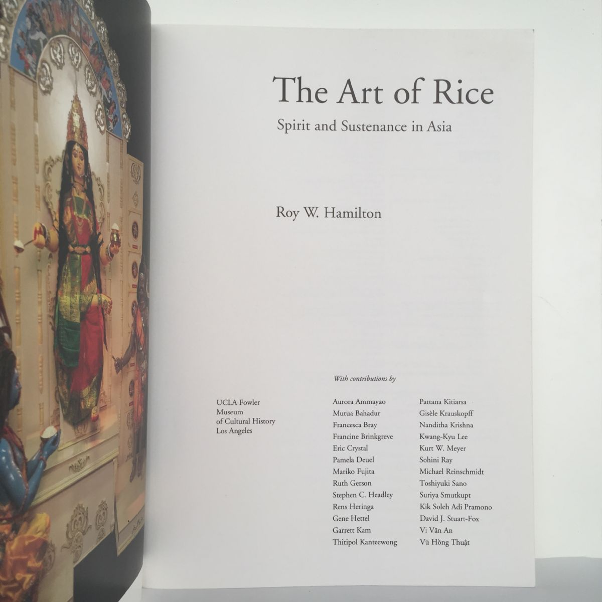 The Art of Rice: Spirit and Sustenance in Asia