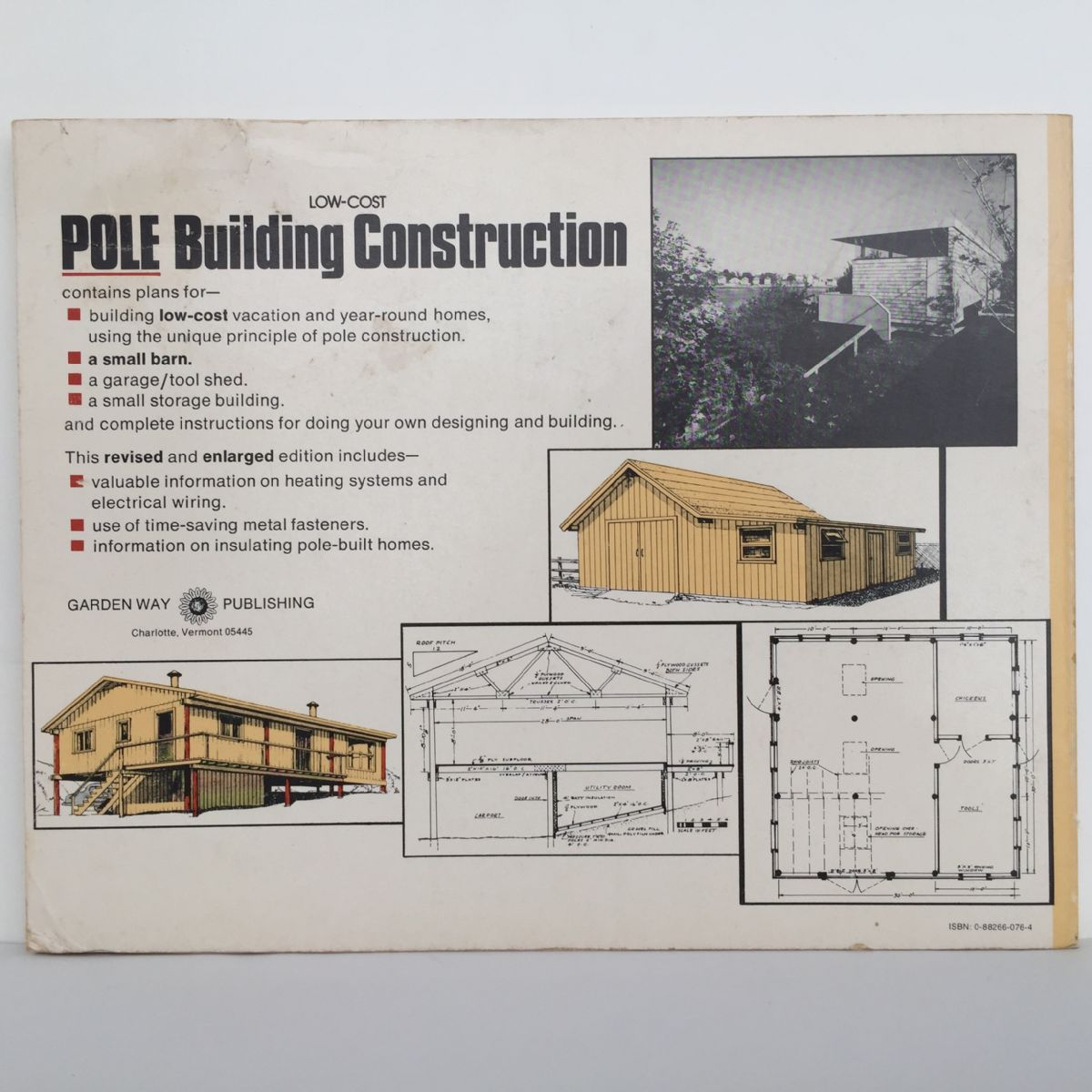 Low-cost Pole Building Construction