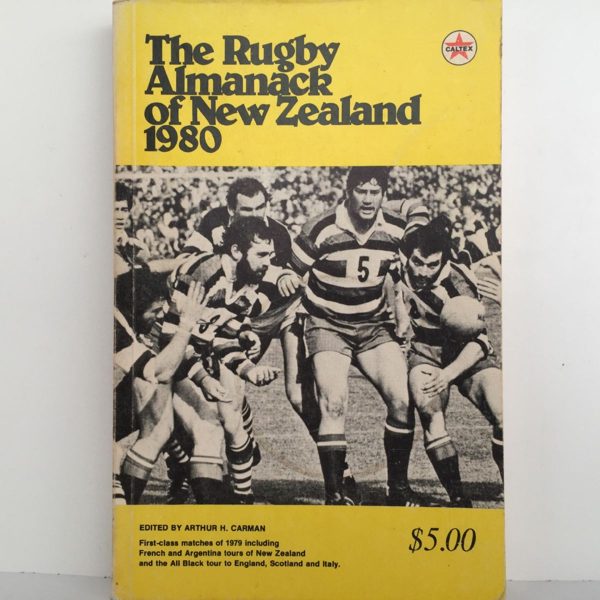 The Rugby Almanack of New Zealand 1980
