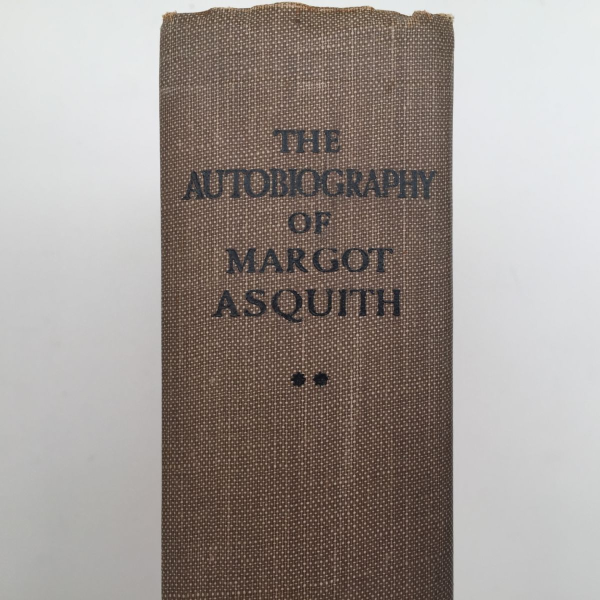 The Autobiography of Margot Asquith