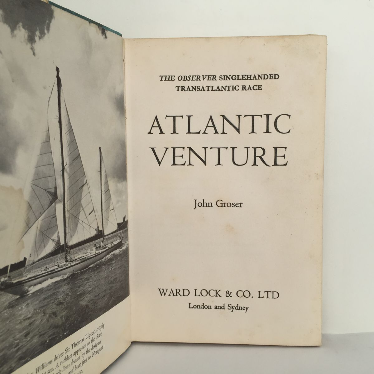 Atlantic Venture: The Observer Singlehanded Transatlantic Race